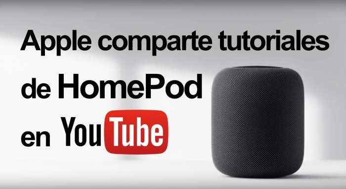 Apple comparte tutoriales del nuevo HomePod en YouTube.