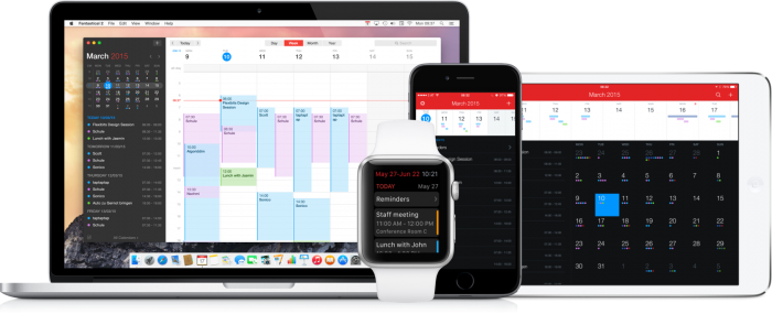 Fantastical 2.5 permite sincronizar con cuentas Meetup