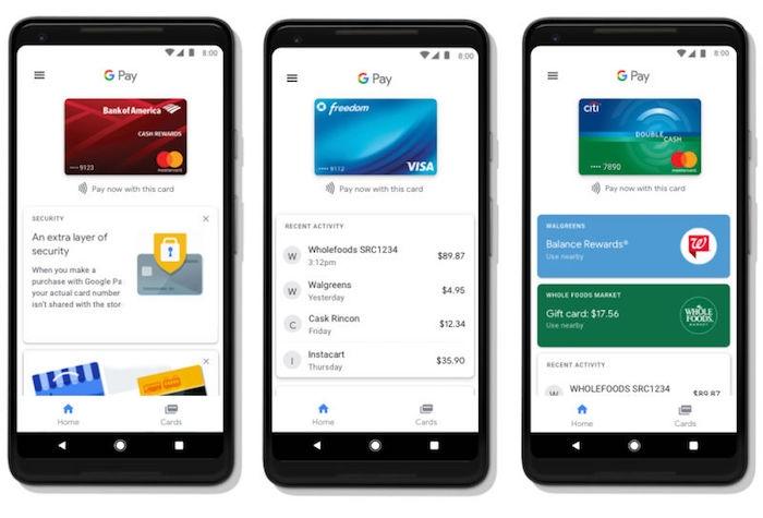Google Pay funcionará en Safari, Firefox y iOS