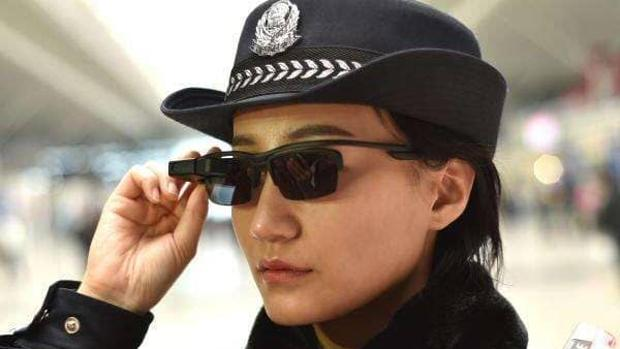 policía china usa gafas inteligentes