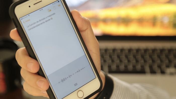 Comandos útiles para dictado en iOS