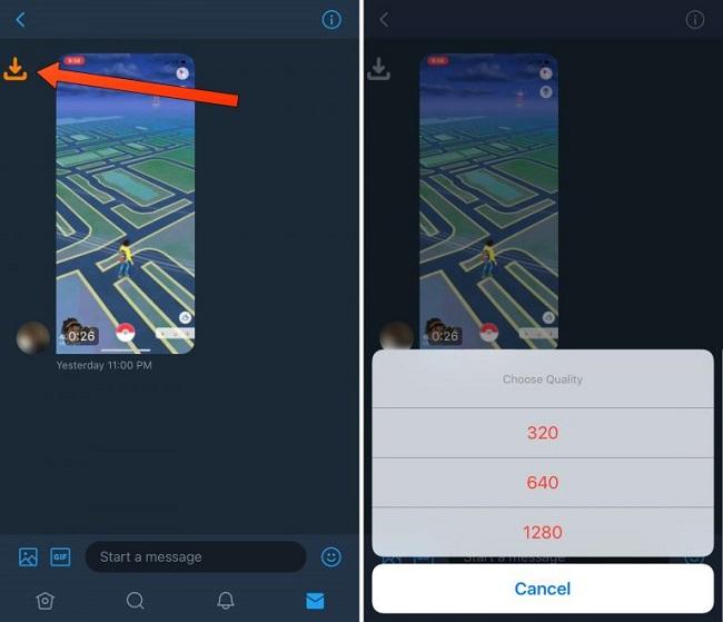 Guarda archivos de vídeo de mensajes directos de Twitter con TWSaveDM