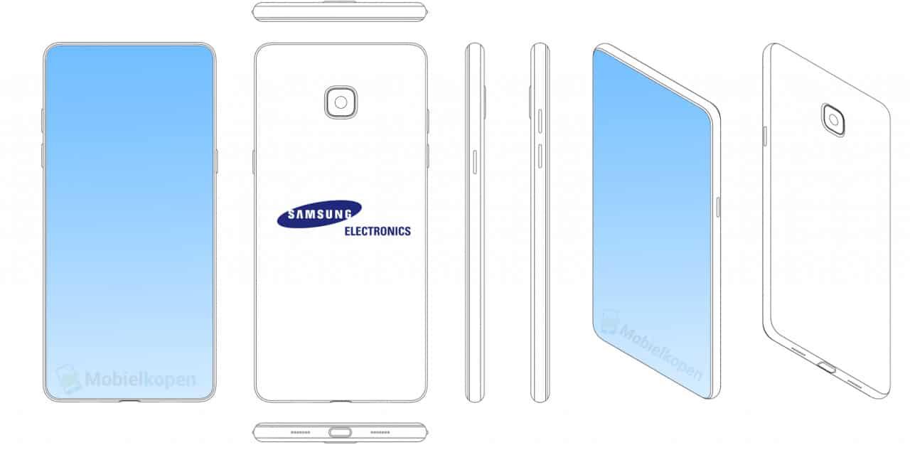 Samsung patenta su primer copia del iPhone X