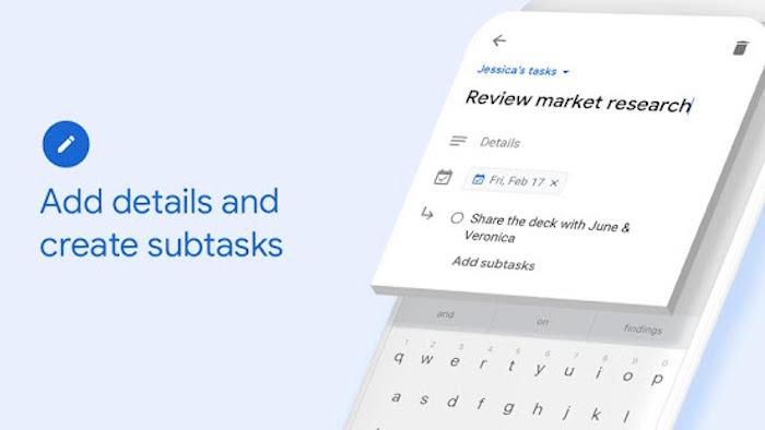 Google Tasks la nueva app de Google