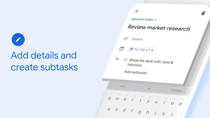 Google Tasks la nueva app de Google