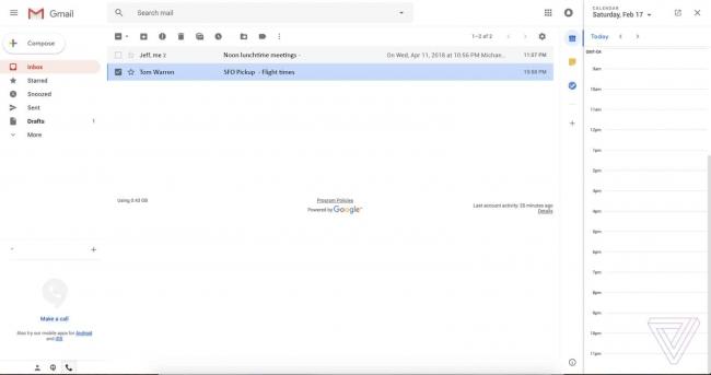 google rediseña gmail 2