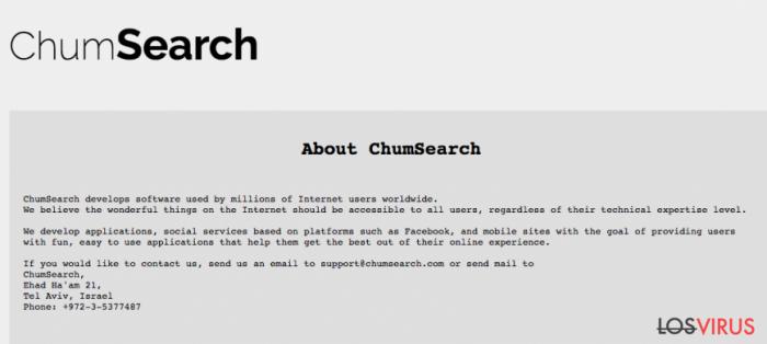 Sitio de chumsearch