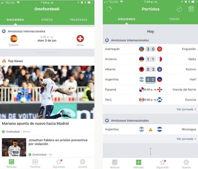App de Onefootball