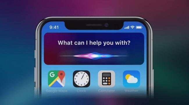 Maqueta de Siri en iOS 12