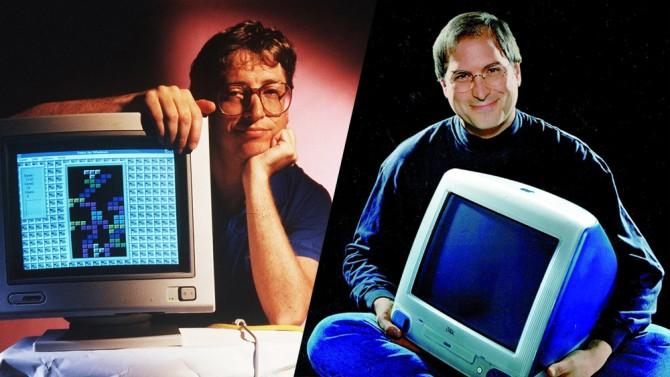 Bill Gates habla muy bien de su eterno rival