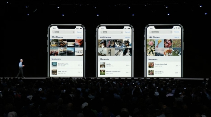 Fotos con iOS 12