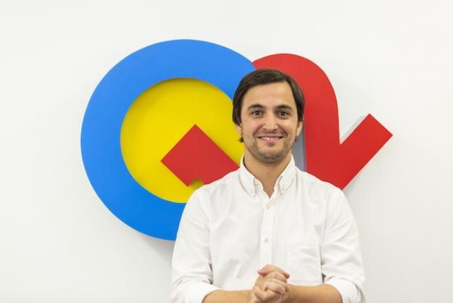 Carlos Alcántara, fundador y CEO Q12 Trivia b