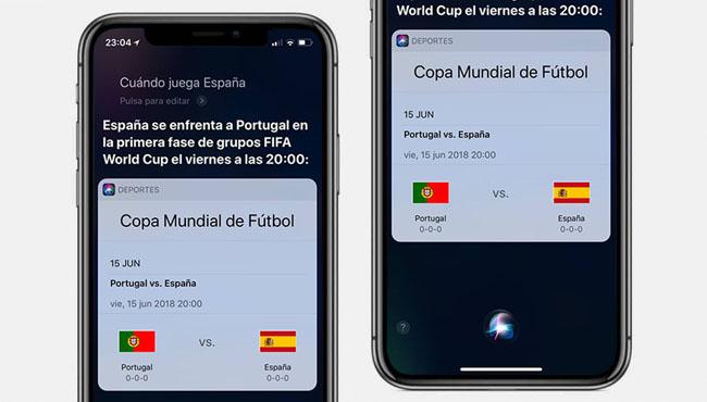 Siri nos ofrecerá la mejor cobertura en relación a el Mundial Rusia 2018