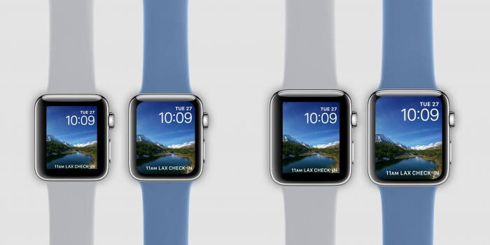 Posible diseño de Apple Watch series 4