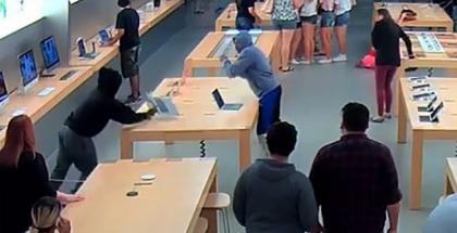 Roban una Apple Store
