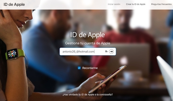 IForgot apple iosmac