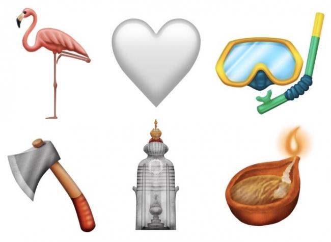 Nuevos Emojis de animales y diferentes categorías