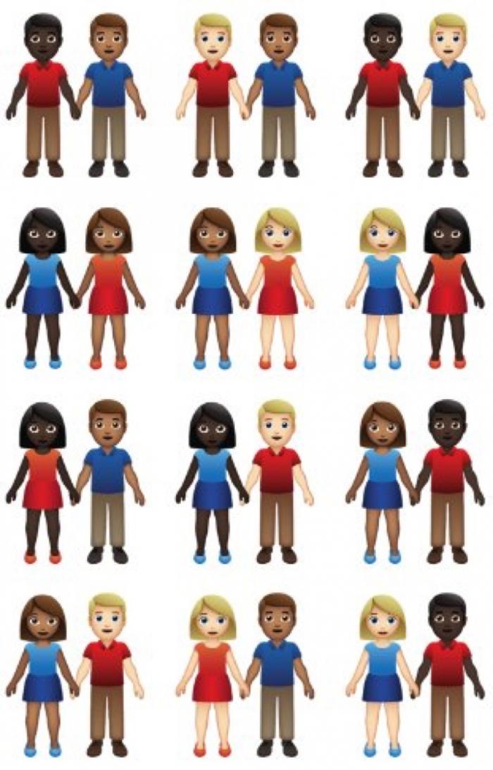 Los nuevos emojis para el 2019 se centrarán en la diversidad