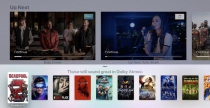 Dolby Atmos en tvOS 12