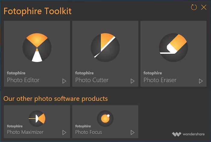 Fotophire una excelente herramienta de edición