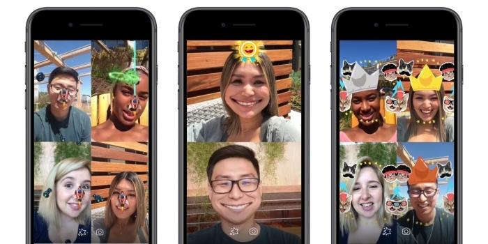 Facebook copia a Snapchat, y lanza sus juegos AR para Messenger