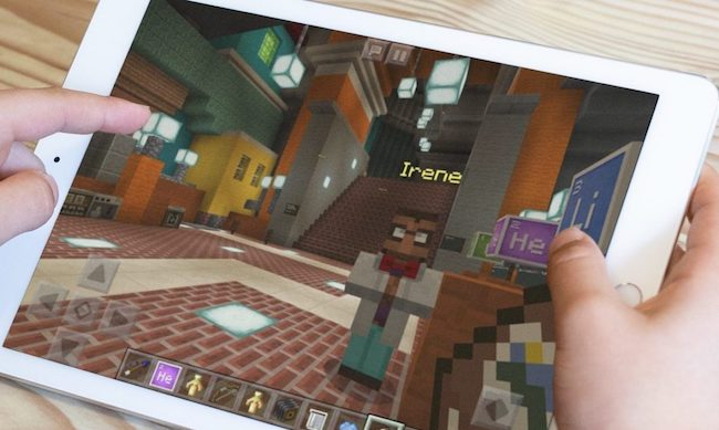 Minecraft: Education Edition preparado para iPad en septiembre