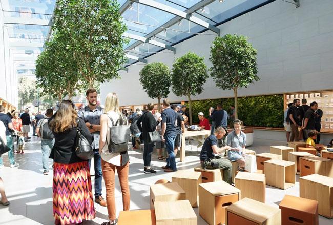 Roban dos veces la tienda Apple de Palo Alto