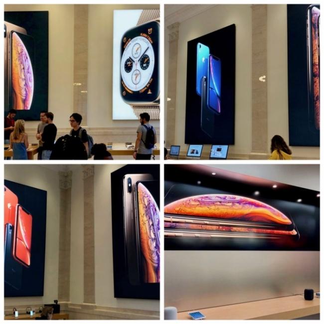 Nuevas imágenes promocionales en la apple store
