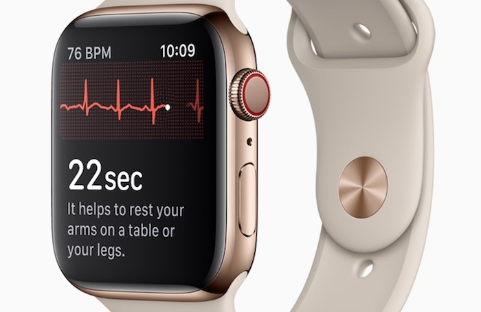 watchOS 5.1.2 ya disponible con función ECG solo en USA