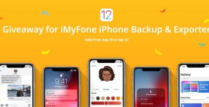 iMyFone celebra la llegada de iOS 12 con regalos y descuentos