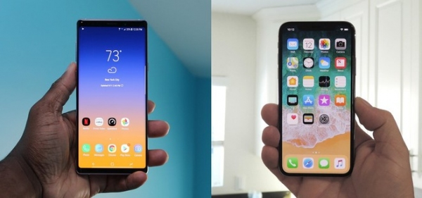 iPhone XS Max contra Galaxy Note 9, ahora el duelo es de batería