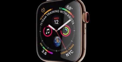 Infograph Modular del Apple Watch Series 4