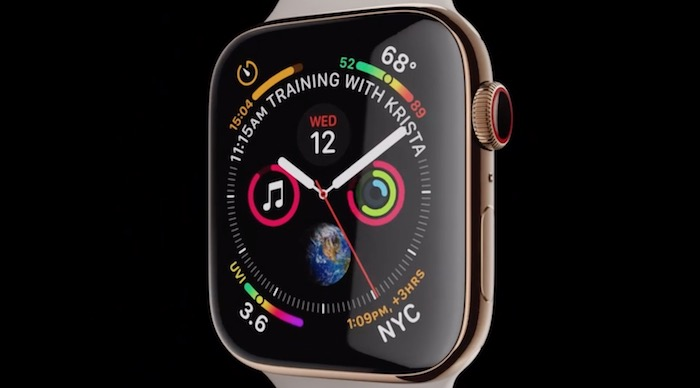Infograph Modular del Apple Watch Series 4