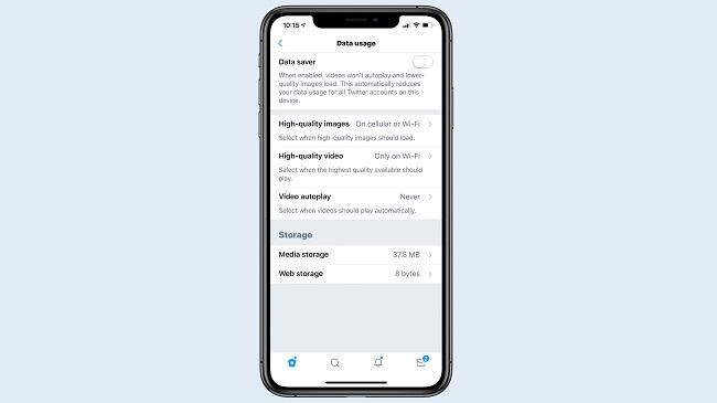 """Twitter para iOS se actualiza, incorporando el """"ahorro de datos"""""""