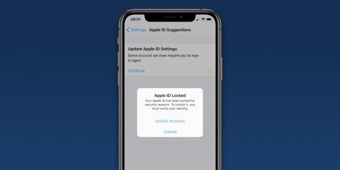 Usuarios reportan bloqueos en sus Apple Id, sin motivo