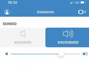 Asistente en la App de SmartHalo