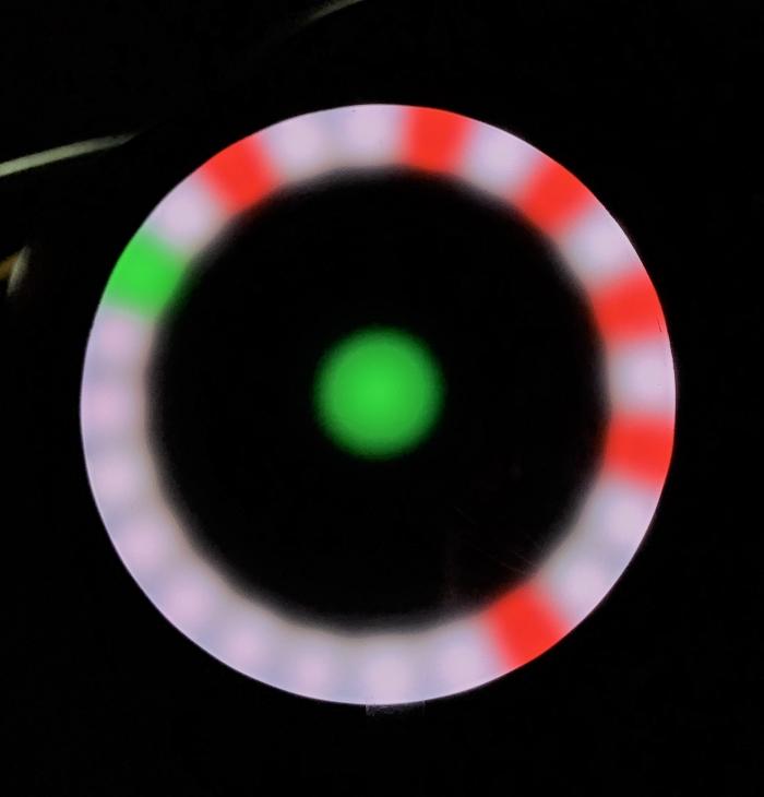 SmartHalo Luces LED indicando giros