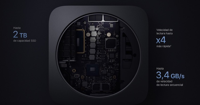 Mac mini 2018-interior