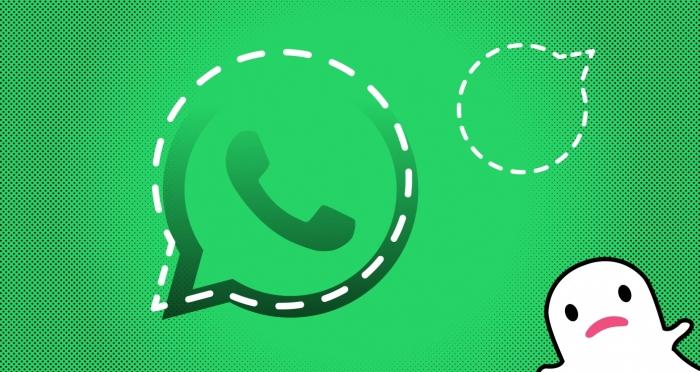 WhatsApp podría volver a destruir Snapchat