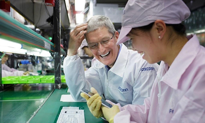 foxconn aliado de Apple