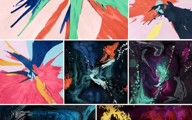 Wallpapers para el iPad Pro: descarga los nuevos fondos coloridos de Apple