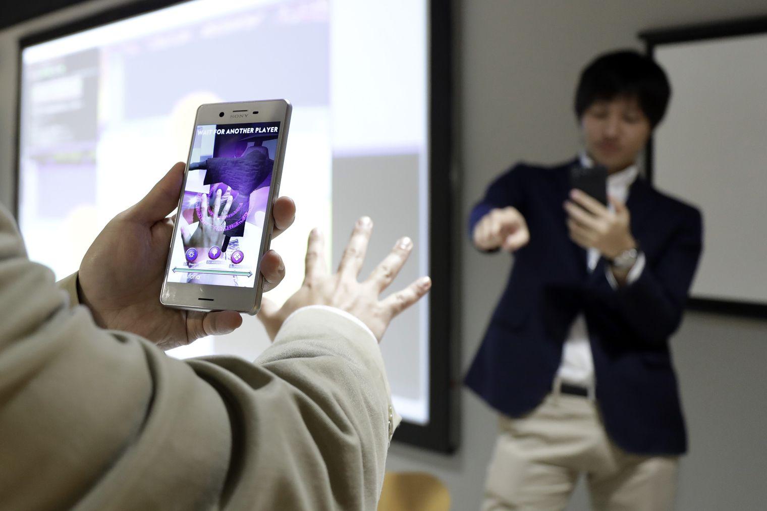 Sensores 3d de Sony para iPhone