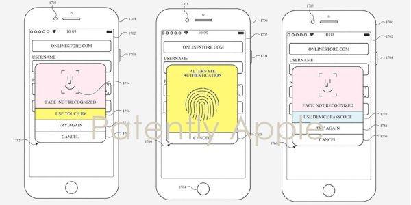 Juntos ambos sistemas biométricos en iPhone