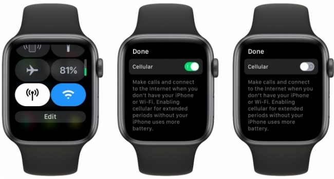 Pasos para desactivar LTE en Apple Watch