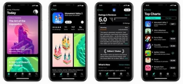 iPhone con modo oscuro en iOS 13
