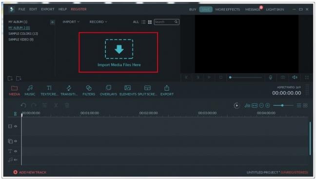 Filmora video editor para Mac fácil y rápido de usar - iOSMac