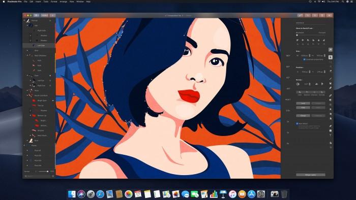 Pixelmator Pro se hace amigo del modo retrato