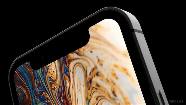 iPhone SE 2 con Face ID Concepto