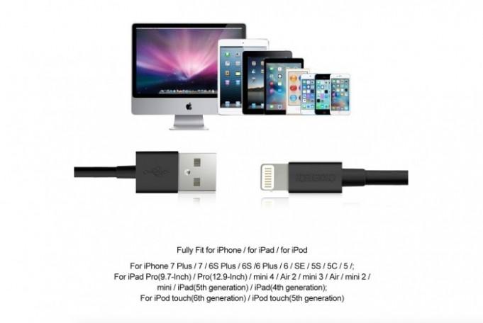 Choetech: última tecnología en cables Lightning para iPhone y iPad