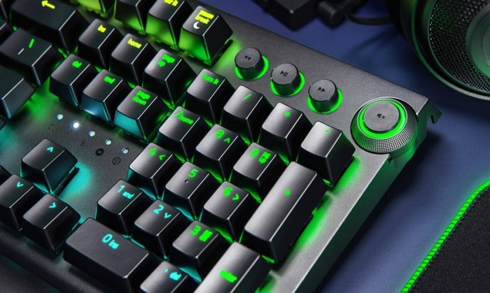 Review Razer Blackwidow Elite utilizándose en macOS